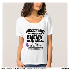 GIST Cancer Met Its Worst Enemy in Me Tees