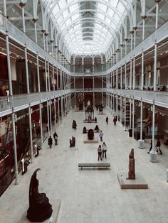 Museum somewhere in Edinburgh