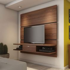 Home Theater Delta 1.8 Rovere Moka Província. TV Wall Mount Ideas for Living Room, Awesome Place of Television, nihe and chic designs, modern decorating ideas