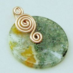 Wirework Jewelry Tutorial Triple Spiral Bail by acuriouschameleon, $2.00