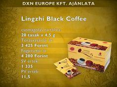 DXN Black Coffee ganodermás fekete kávé