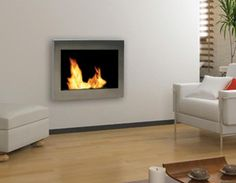 have this gel wall fireplace and love it!