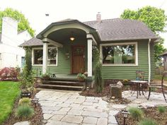 Vintage Bungalow in Downtown Vancouver, WA Vancouver House, Downtown Vancouver, Tiny House, Small Houses, Midcentury Modern, Bungalow, Beautiful Homes, Home And Garden, Outdoor Structures