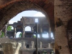 Rome Day 3 Colosseum  Tomorrow: Ecstasy of St. Teresa Next week: Florence  #travel #italy #rome