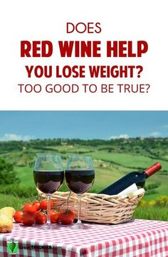 wine help you lose weight