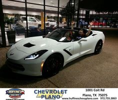 #HappyAnniversary to Billy Bryant on your 2014 #Chevrolet #Corvette Stingray from Everyone at Huffines Chevrolet Plano!
