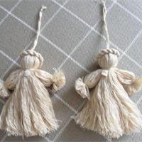 Ange de Noël en laine Déco Noël à fabriquer - Loisirs créatifs