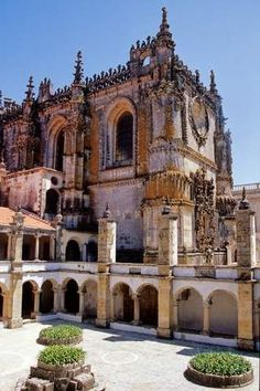 Tomar Convent - Portugal. A Templar center from the medieval era