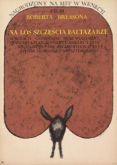 Au hasard Balthazar (1966) polish poster