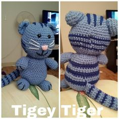 My version of Tigey the Tiger.