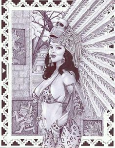 Chicano Drawings, Chicano Art, Aztec Drawing, Cholo Art, Latino Art, Prison Art, Mexican Art, Aztec Culture, Lowrider Art