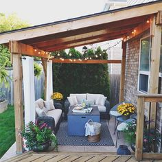 Do I have to give up the patio!!!?? With the first taste of Fall weather arriving today I'm not ready to give up my outdoor space! On the bright side... cozy sweaters! #ItMustBeFall #FallWeather #FallPatio #OutdoorPatio