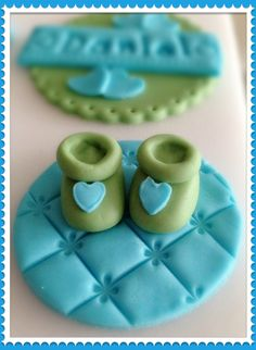 new baby boy cupcake topper ;)
