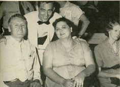 JULY 4, 1956, Vernon and Gladys, Minnie Mae, Russwood for Elvis' performance