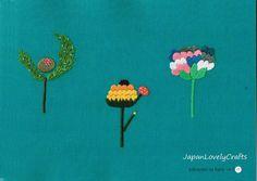 Vintage Visage Fer Sur Broderie Transfert-jacobéen deco fleur cercle 2 feuilles