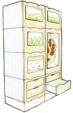 appliance-sketch #hydroponicgardening #FutureHomeAppliances