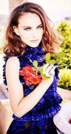 Natalie Portman by Ellen von Unwerth for Marie Claire UK September 2015