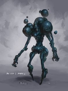 Monster No. 037 by Onehundred-Monsters on DeviantArt