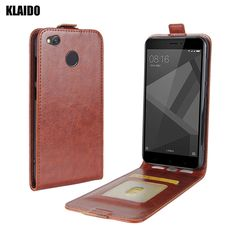 KALIDO Case for Xiaomi Redmi 4X Case cover Flip leather Xiami Redmi 4x Case Silicone TPU. Click visit to buy #WalletCase #Case