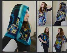 """Check out new work on my @Behance portfolio: """"Silk Scarf Collection 'Ancient Greece'"""" http://be.net/gallery/41208097/Silk-Scarf-Collection-Ancient-Greece"""