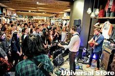 Universal Store Melbourne Central Jungle Giants