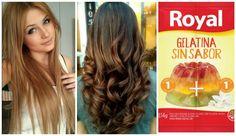 Repara y da volumen a tu cabello usando gelatina sin sabor ~ Manoslindas.com