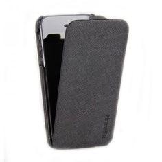 XtremeMac Flip Case Schutztasche für Apple iPhone 5 (mit Kartenfach auf der Rückseite) schwarz Hartwaren Technik Handys & Zubehör