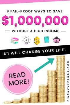 How To Become A Millionaire: The Millionaire Next Door (Without a High Income) – Finsavvy Panda – Make Money Ways To Save Money, Money Saving Tips, How To Make Money, How To Become, Money Tips, Managing Money, Money Hacks, Millionaire Next Door, Become A Millionaire