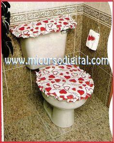Toilet Decoration, Bathroom Crafts, Christmas Village Display, Valentine Decorations, Hello Kitty, Valentines Day, Toilets, Home Decor, David