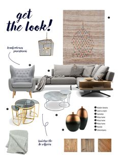 Get the look! Get The Look, Eames, Lounge, Chair, Furniture, Home Decor, Living Room, Airport Lounge, Decoration Home