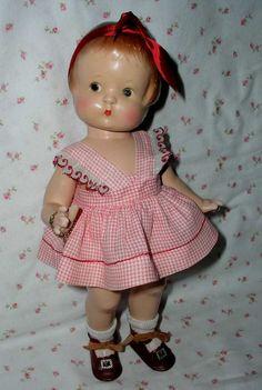1929 Effanbee Pat. Pending PATSY Doll -- ALL ORIGINAL w/Hang Tag