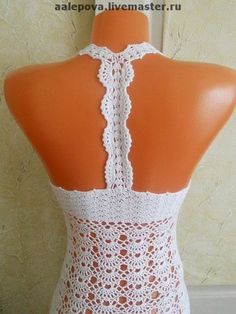 crochet dress pattern diagrams pdf. Would be cute with a liner of a contrasting color.