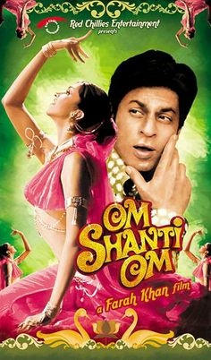 Shahrukh Khan and Deepika Padukone - Om Shanti Om - ॐ शांति ॐ - (2007)  Source: planetbollywood.com