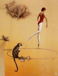 Practice Ring by Michael Parkes