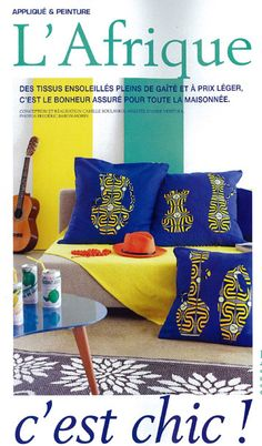 """Marie Claire idees """"L'Afrique C'est Chic"""""""