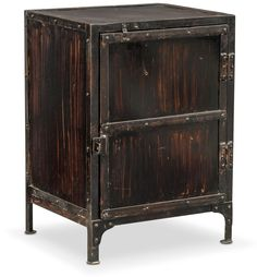Accent and Occasional Furniture - Gwinn Cabinet - Black New Bedroom Design, Rustic Contemporary, Furniture Making, End Tables, Woodworking Projects, Locker Storage, Furniture Design, Cabinet, Living Room
