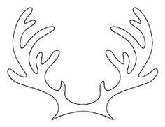 Reindeer Antlers Pattern