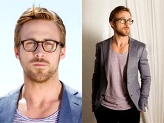 I LOVELOVELOVE the glasses. I love guys who look good with glasses.