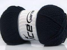 Fiber Content 60% Virgin Wool 40% Acrylic Brand Ice Yarns Dark Navy fnt2-43532
