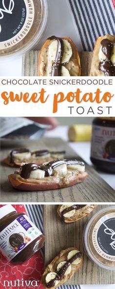 3 Unexpected Sweet Potato Recipes kitchen.nutiva.com Chocolate and Banana
