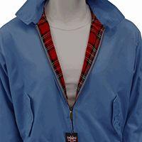 Harrington Jacket by Warrior Clothing- BLUE BEAT