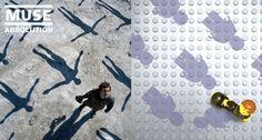 Muse - LEGO Album Covers