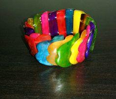 Colorfull bracelet ... find on www.tropicolormg.it