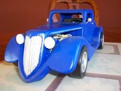ford 34 image Woodworking Projects Diy, Diy Projects, Wooden Car, Derby, Vehicle, Ford, Models, Image, Wooden Toy Plans