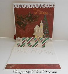 Another Joy pop up Card by Selma - Cards and Paper Crafts at Splitcoaststampers