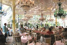Tavern on the green NYC. I loved going there!! So sad it closed in 2009 :(