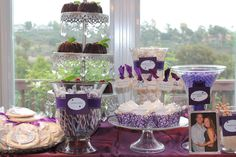 dessert table/candy bar