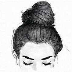 You are in the right place about anime dessin fille Here we offer you the most beautiful pictures ab Tumblr Girl Drawing, Tumblr Drawings, Girl Drawing Sketches, Girly Drawings, Girl Sketch, Pencil Art Drawings, Outline Drawings, Art Du Croquis, How To Draw Hair