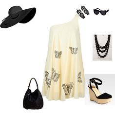 Butterflies, created by stacie-fetterly-bonner on Polyvore
