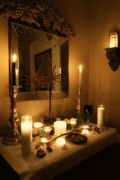 My Yule Altar